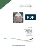 Assessment of the City of Lockport's Treasurer's Office