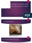 A Review on Public Places and Urban Spaces-implementing