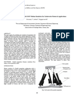 Modelling and Simulation of 6 DOF Motion Simulator for Underwater Research Applications