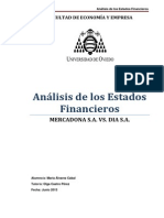 Trabajo Fin de Máster. Mercadona s.a. vs. Dia s.a.