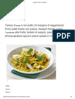 10 Piatti Per l'Estate - Sale&Pepe