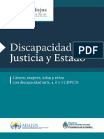 Discapacidad Justicia y Estado III