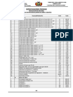 e.especificaciones Tecnicas - Instalacion de Gas