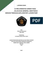 Laporan Kasus - Peritonitis With GA