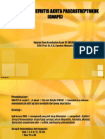 Glomerulonefritis Akuta Pascastreptokok (Gnaps)