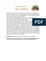 01 Caso Clinico Medula Espinal