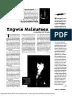 199408 Greg Rule - Yngwie Malmsteen