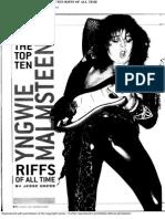 200510 Jesse Gress - Yngwie Malmsteen - The Top Ten Riffs of All Time