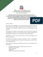 Discurso ministro de Educación en entrega Premio Nacional Periodismo 2014
