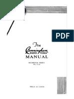 1932 C-10 the Cunningham Radio Tubes Manual