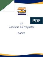 BASES CONCURSO 14 FONDOEMPLEO