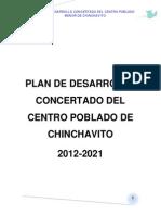 Plan de Desarrollo c. Chinchavito