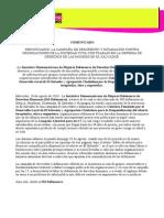 Comunicado IMDEFENSORAS - El Salvador Descrédito y Difamación vs OSC (200814)