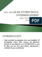 Tecnicas de Entrevista e Interrogatorio(Curso en Pep)