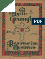 The Mystic Triangle, February 1929