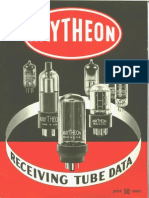 Raytheon Radio and Television Recieving Tube Data 1957