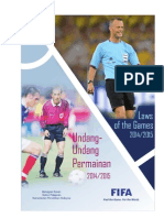 FIFA Laws of the Game 2014-2015 DwiBahasa