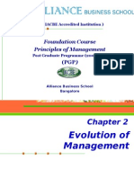Chapter 2_Evolution of Management