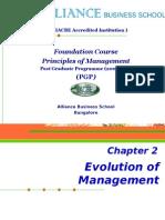 Chapter 2_Evolution of Management