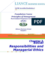 Chapter 3_Social & Ethical Responsibilities of Management