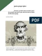 Homero O Poeta Grego Épico - Revista Literatura