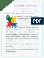 PRINCIPIOS MINIMOS FUNDAMENTALES
