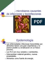 Agentes Microbianos Causantes de Infecciones y Toxiinfeccion