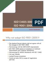 Comparison ISO 9000_2000 vs ISO 13485_2003
