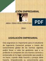 legislacion empresarial presentacion