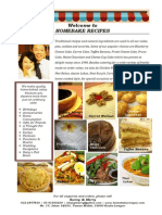 Homebake Recipes