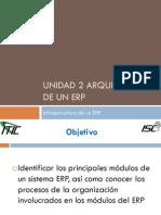 Unidad 2 Arquitectura de Un ERP