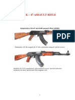 Ak 47 AKM Technical Manual DETAILED