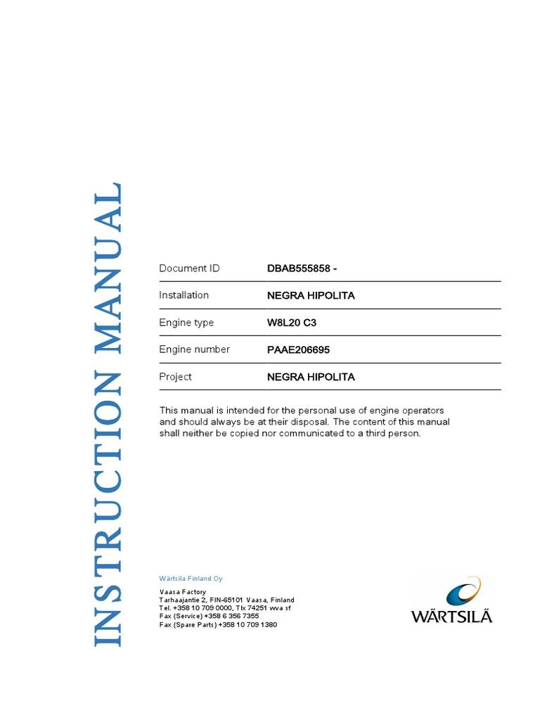 manual waartsila pdf cylinder engine piston rh scribd com