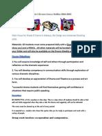 grade 9 drama course outline 2014