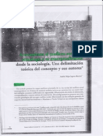 Conflicto y Sociologia
