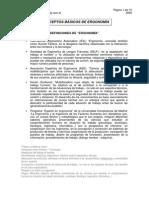 Conceptos Basicos de Esgonomia