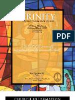 Trinity United Church of Christ Bulletin Feb 17 2008
