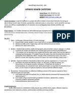 capstone syllabus 2014-2015