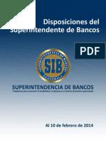 Disposiciones Del Superintendente de Bancos