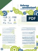 Folleto Reforma Constitucional DDHH