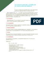 Teoremas y Postulados Del Algebra de Boole (1)