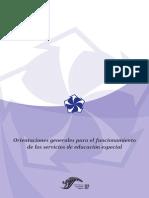 Orientaciones Generales, Primera Edición, 2006