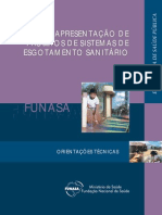 Apresentação de Projetos de Sistemas de Esgotamento Sanitário - Funasa