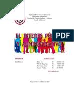 Interes Publico y Administrativo. Derecho Administrativo