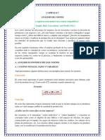 Capítulo 7 y 8 de Costos Resumen