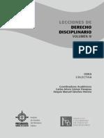 Lecciones de Derecho Disciplinario