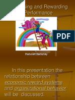 Appraisindg and Rewarding Performancel