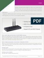 ATCOM IP2G4A IP PBX Appliance Datasheet