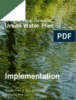 GNO Urban Water Plan_Implementation_03Oct2013