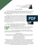 PNW Program Notes (Oct)